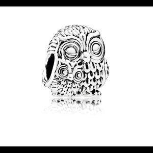 925 Mommy Owl Charm